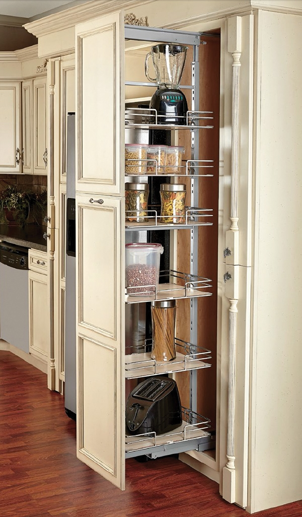 Pull Out Pantry Cabinet Motion